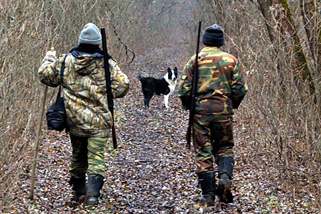 "Several years ago a new law called ""On the conservation of game resources"" was passed in Russia, and now hunting permits have become more difficult to obtain. Source: Photoshot / Vostock Photo"