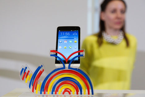The new Flame phone from Explay will operate with Yandex.Kit software. Source: Press Photo