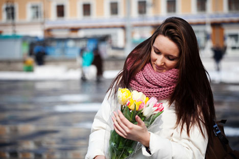 March 8th is a very special holiday for every woman in Russia. Source: ITAR-TASS