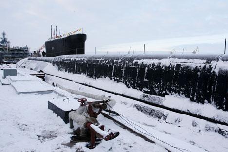 Yury Dolgoruky submarine. Source: ITAR-TASS
