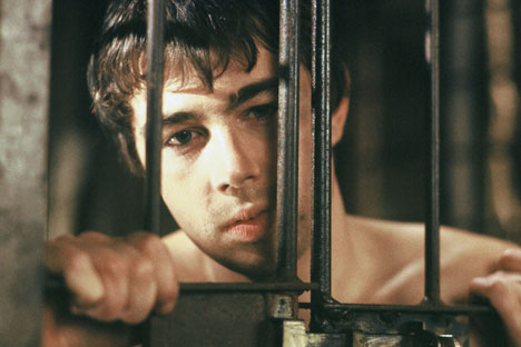 """The Bear's Kiss"" was the last film of Sergei Bodrov Jr. Source: ITAR-TASS"