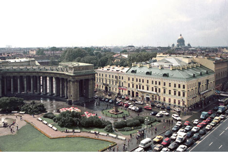 The former residence for Kazan Cathedral clergy was renovated and updated into a business development. Source: Studio 44