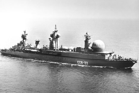 Soviet command ship SSV-33. Source: Wikipedia