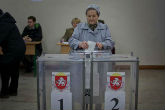 Crimean referendum, exit poll