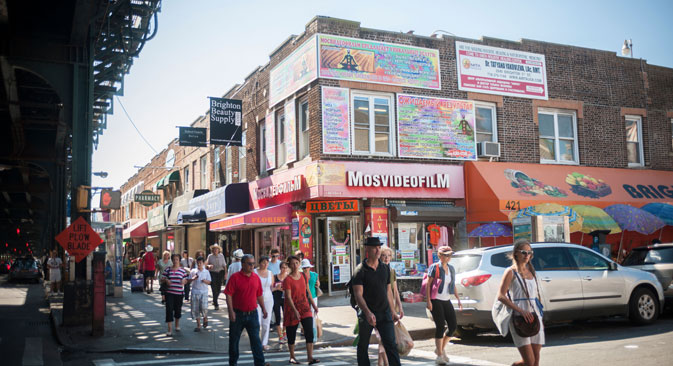 New Yorkers have long way to go to Brighton Beach for borscht.Source: Alamy / Legion Media