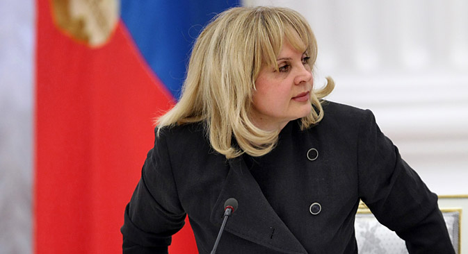 Ella Pamfilova began her career as minister of social protection in 1990-s. Source: Kommersant