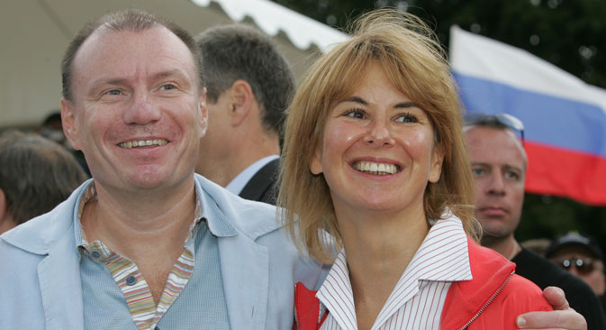 Vladimir Potanin and his wife Natalya divorced after the 30-year marriage. Source: PhotoXPress