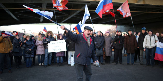 The anti-war rally was held in Moscow on March 2. Source: ITAR-TASS