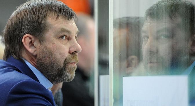 New coach of Russia's hockey team Oleg Znarok. Source: Vladimir Fedorenko / RIA Novosti