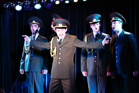 "Russian Army Choir became famous after their ""Skyfall"" cover went viral in the fall of 2013. Source: Press photo"