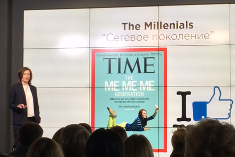 The famous Time magazine's cover illustrating the MeMeMe generation. Source: Vsevolod Pulya