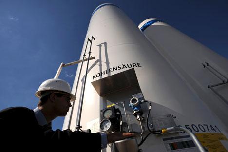 O fornecimento de gás revertido da Eslováquia à Ucrânia está sendo planejado desde novembro de 2013 Foto: AP