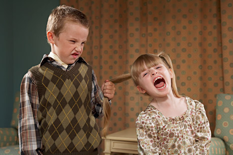 10 percent of children are the initiators of aggression. Source: Getty Images / Fotobank