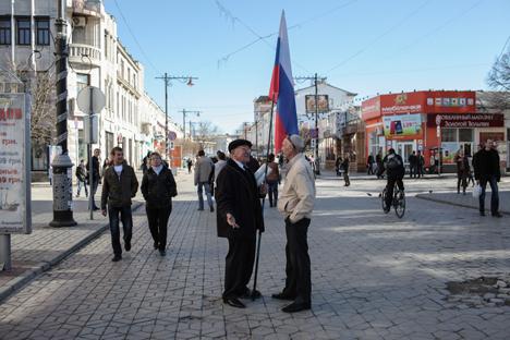 Especialistas definiram a introdução de pacotes turísticos na península Foto: Serguêi Savostianov/RG