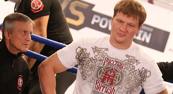 The boxer's head coach believes that it is too early for Povetkin to enter the ring. Source: Photoshot / Vostock Photo