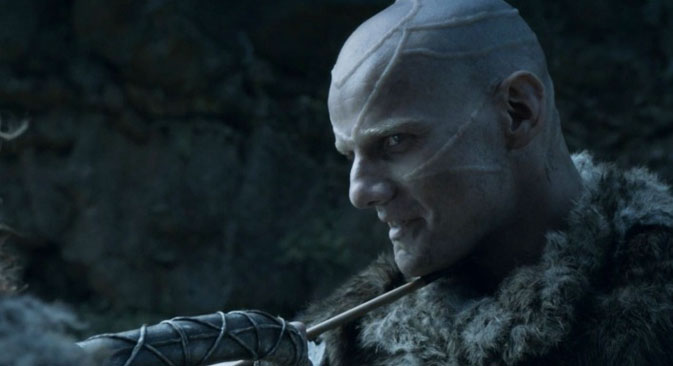 Styr Kolokolnikov, leader of the Thennes, screenshot from Game of Throns, season 4. Source: HBO