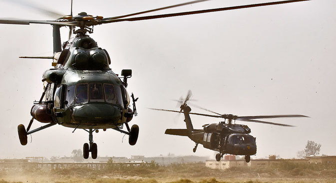 According to the Rosoboronexport head, Mi-17 helicopters are ideally suited for use in Afghanistan.