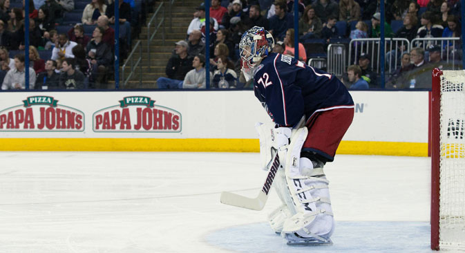 Sergei Bobrovsky, Columbus. Source: Imago/ Legion media
