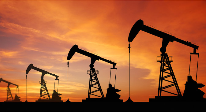 Russia saw oil output hit a post-Soviet record of 10.5 million barrels a day in 2013, up 1.4 percent from 2012. Source:  Shutterstock