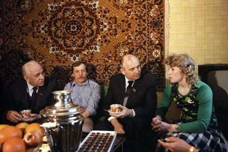 Михаил Горбачов. Илустрација: ТАСС