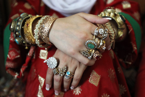 A história de joias e bijuterias na Rússia começa no século 8 Foto: Valéri Melnikov/RIA Nóvosti
