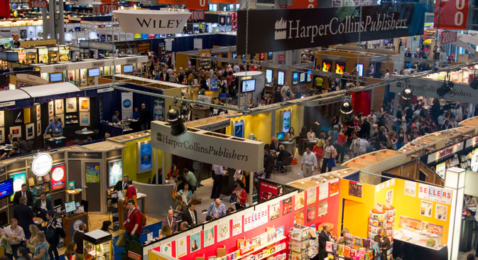 Thousands of buyers visit Book Expo every year. Source: bookexpoamerica.com