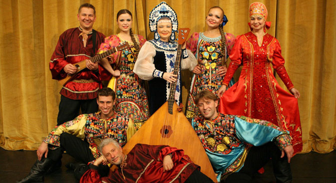 The Barynya band performs traditional folk harmonies in New York. Source: Press photo