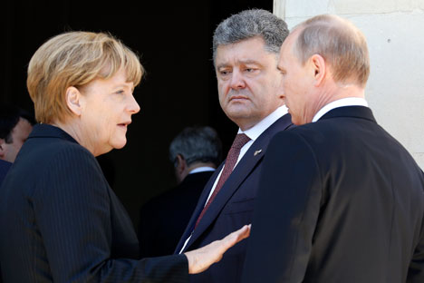 Putin, Merkel and Holland will meet on the sidelines of the G20 summit in China to discuss Ukraine.