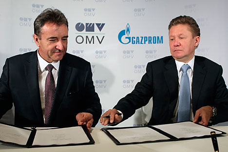 """Für Gazprom ist """"South Stream"""" wichtig, da es den Export von russischem Gas nach Europa ohne Transit durch die Ukraine ermöglicht. Foto: Reuters"""