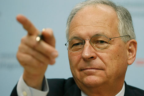 Wolfgang Ischinger, the German OSCE special envoy to Ukraine. Source: Reuters