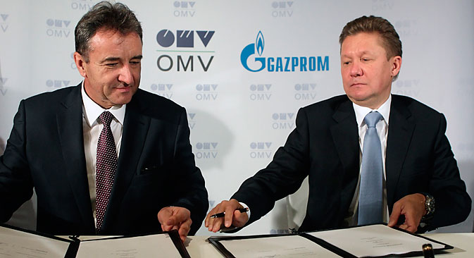 Gas and oil firm OMV to construct Austrian section of controversial pipeline. Source: Reuters