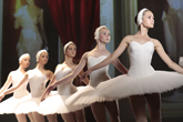 Classical ballet and modern technology on one stage