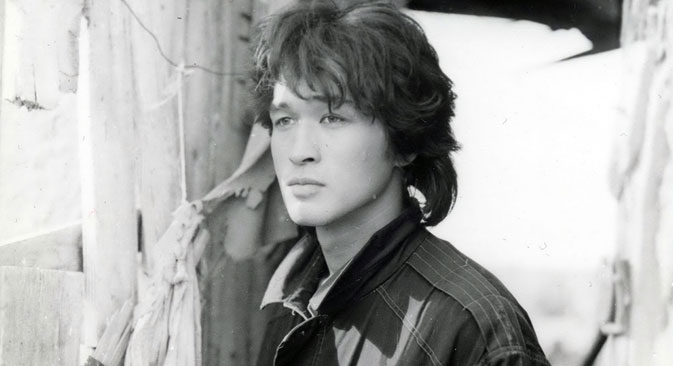 "Viktor Tsoi in a scene from ""Needle. Remake"" film. Source: ITAR-TASS"