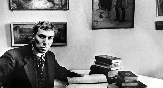 After Soviet censors refused to allow the novel to be published, Pasternak sent a few copies to friends in Europe. It first appeared in Italian. Source: ITAR-TASS