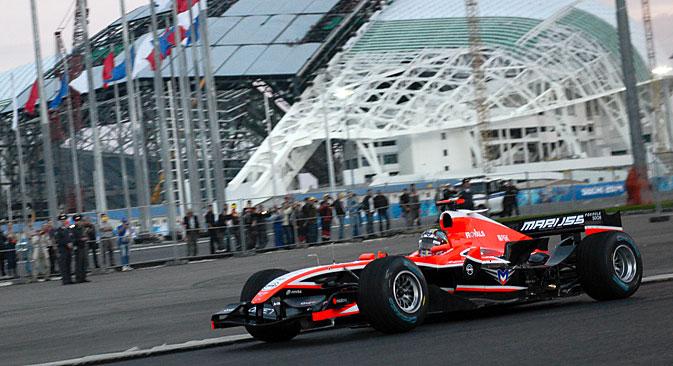 Formula-1 Grand Prix set for Sochi in October 2014. Source: ITAR-TASS