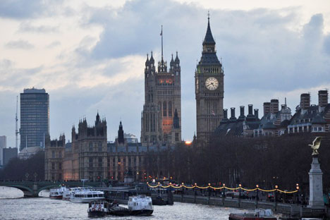 """London is the capital of Great Britain"" is the first thing Russians think of when they hear about the UK because it was one of the first phrases they learned in English class. Source: Tatiana Shilovskaya"