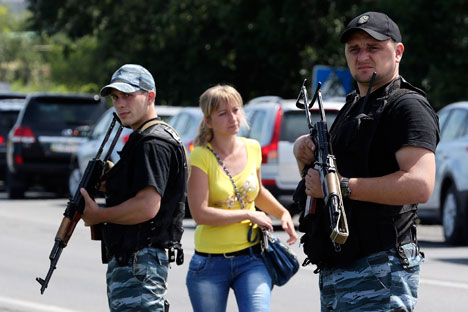 Alguns respondentes citaram também o uso de força na Ucrânia Foto: Reuters