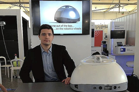 The xTurion startup is to release a security robot for smart homes. Source: Press photo