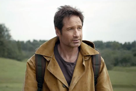 David Duchovny takes Russia's internet by storm with beer commercial