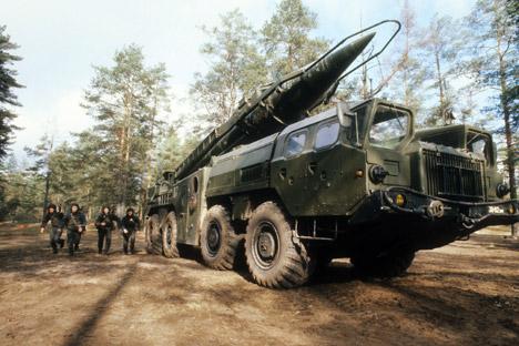R-17 na região de Leningrado, em 1982 Foto: ITAR-TASS
