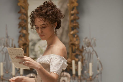 Keira Knightley as Anna Karenina. Source: kinopoisk.ru