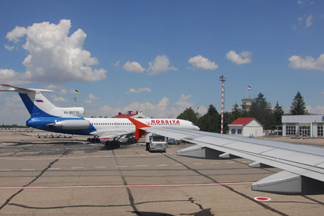 Airport in Simferopol, Crimea. Source: Lori / Legion media