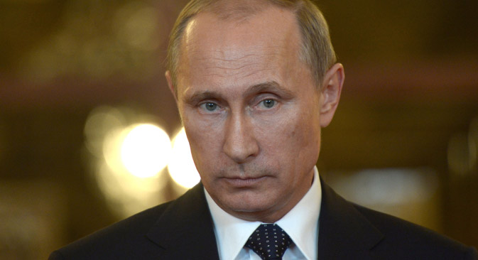 Russian President Vladimir Putin expressed condolences over Vitaly Churkin's death.