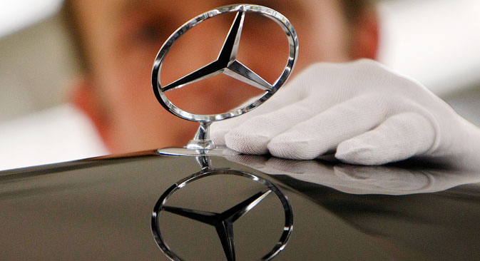Foreign car makers continue to open Russian plants despite sanctions. Source: AP