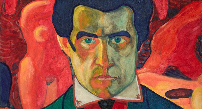 Self Portrait 1908-1910 Source: State Tretyakov Gallery, Moscow