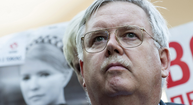 John Tefft's diplomatic career features previous postings to Ukraine and Georgia. Source: Reuters