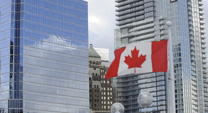 Canada first imposed sanctions on Russian banks and companies in May 2014. Source: ITAR-TASS