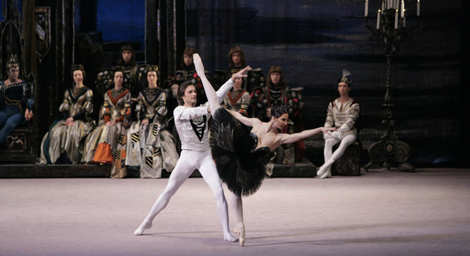 The Bolshoi's production of Swan Lake incorporates choreography by Marius Petipa, Lev Ivanov, and Alexander Gorsky. Source: Press Photo