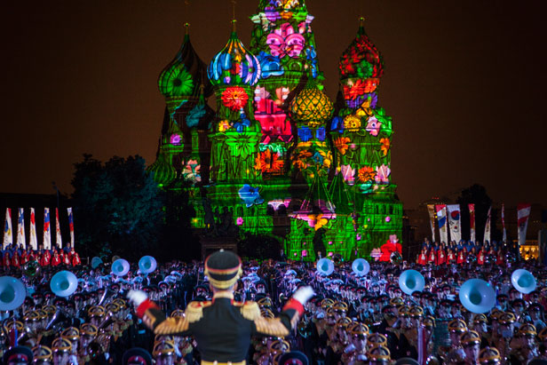 Prelude to the International Spasskaya Tower Music Festival