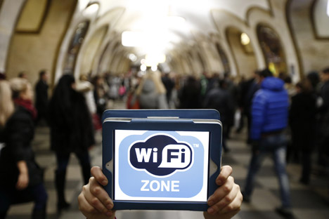 The Wi-Fi connection provider would have to collect the user's full name and passport information, and would have to store the data for six months. Source: ITAR-TASS